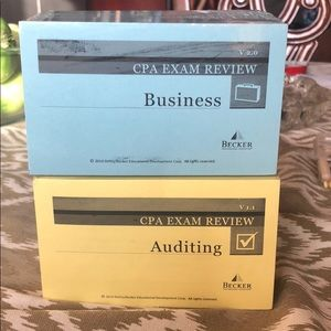 Becker CPA Review Cards